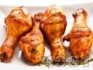 Рецепта Пикантни мариновани пилешки бутчета със соев сос